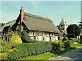 SO5537 : Thatched Cottage; 1st September 2010 by Jonathan Billinger