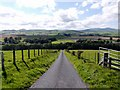 NU0616 : Minor road east of Powburn by Andrew Curtis
