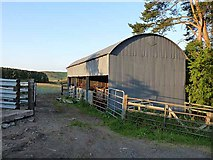 NT8327 : Barn in the Halter  Burn valley by Oliver Dixon