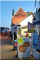 SY3391 : Lyme Regis Promenade: Snacks by Eugene Birchall