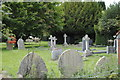 TL0635 : Flitton cemetery by Barry Ephgrave