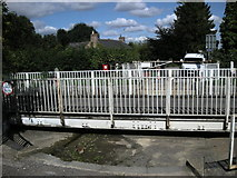 SP7089 : Foxton swingbridge by Ian Rob