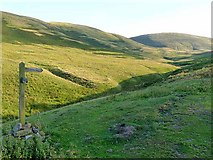 NT8525 : Head of the Halterburn valley by Oliver Dixon