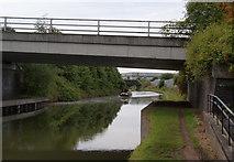 SJ7996 : Boat on the Bridgewater Canal by Bill Boaden