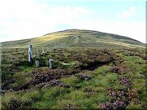 NT8721 : Pennine Way approaching the Schil by Oliver Dixon