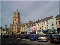 SP0202 : Market place, Cirencester by Andrew Abbott