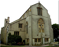 TM1714 : St James the Great Church, Clacton-on-sea, Essex by Peter Stack