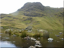 NY2807 : Harrison Stickle and Stickle Tarn by Peter S