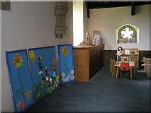 TM2850 : Melton, St Andrew: children's area by Basher Eyre