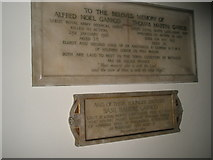 TM2850 : Melton, St Andrew: memorials (3,4) by Basher Eyre