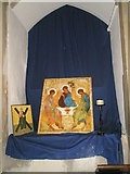 TM2850 : Melton, St Andrew: icons by Basher Eyre