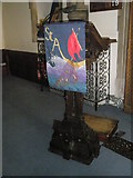 TM2850 : Melton, St Andrew: lectern by Basher Eyre