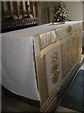 TM2850 : Melton, St Andrew: altar by Basher Eyre