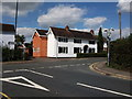 SP3183 : The junction of Bennetts Road and Penny Park Lane, Keresley by John Brightley