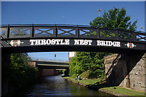 SJ8196 : Throstle Nest Bridge, Bridgewater Canal by Stephen McKay