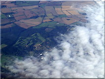 TL0038 : The Millbrook Golf Club from the air by Thomas Nugent