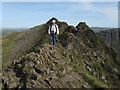 NY3414 : On Striding Edge by Trevor Littlewood