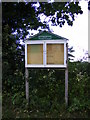 TM4378 : Sotherton Parish Notice Board by Adrian Cable