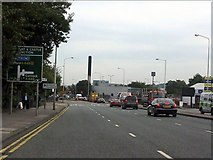 SO9199 : Stafford Street (A449) - Cannock Road junction by J Whatley
