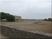 SN0403 : The tidal Carew River (at low tide) by Gareth James