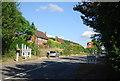 TQ0143 : Entering Bramley, A281 by N Chadwick