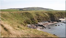 SH2035 : The northern end of Traeth Penllech from the Penrhyn Melyn headland by Eric Jones