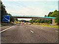SJ7784 : M56, Ashley Hall Footbridge by David Dixon