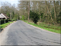 TQ4532 : View along Kidd's Hill Road towards Coleman's Hatch by Nick Smith