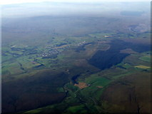 NS6930 : Muirkirk andSmallburn from the air by Thomas Nugent