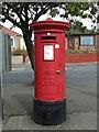 NS4966 : Pillar box on Wright Street by Thomas Nugent