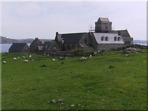 NM2824 : Iona Abbey on an Overcast Day by Hilmar Ilgenfritz