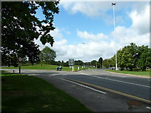 SU9850 : Stag Hill Roundabout (3) by Basher Eyre