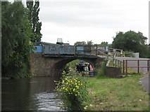 SO8277 : Limekiln Bridge on the Staffs and Worcs Canal by Richard Rogerson