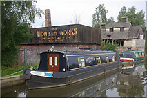 SJ6775 : Trent & Mersey Canal and the Lion Salt Works by Stephen McKay