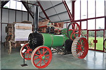 TM0458 : Ransomes, Head and Jefferies Traction Engine by Ashley Dace