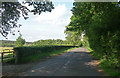 SU9318 : Country road near Graffham (3) by Stephen Richards