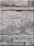 SH4862 : Benchmark at 27 Stryd Newydd, Caernarfon by Meirion