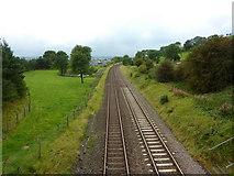 SD8656 : Railway west of Gillian's Laithe by Alexander P Kapp