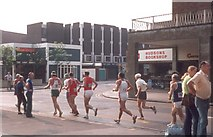 SP3378 : Runners, Jordan Well by E Gammie
