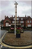 TG0738 : Holt War Memorial by Phillip Perry