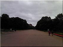 TQ2579 : View down Broad Walk to Kensington Road by Robert Lamb