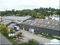 ST5394 : Lower Church Street factories, Chepstow by Jaggery