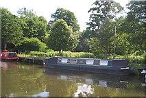 SU9946 : Narrowboat, River Wey by N Chadwick