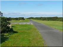 NS2006 : The driveway to the lighthouse, Turnberry by Humphrey Bolton