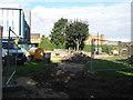 TQ7768 : Ripped up gardens of Balmoral Gardens by David Anstiss