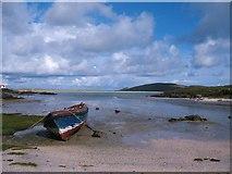 NF7004 : Ebbing tide at Crannag by Gordon Hatton