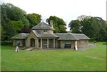 NS2209 : The Swan Pond Centre, Culzean Country Park by Humphrey Bolton