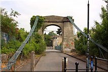ST7464 : The south end of Victoria Bridge by Steve Daniels