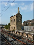 SD4970 : Carnforth Railway Station, Building by Alexander P Kapp