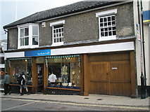 TM2863 : Sue Ryder Shop in Market Hill by Basher Eyre